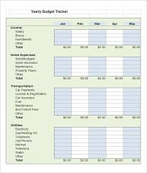 Maintenance Tracking Spreadsheet by 5 Budget Tracking Templates Free Word Excel Pdf Documents