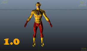 young justice kid flash young justice gta5 mods com
