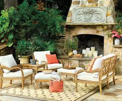 outdoor spaces bringing mantel and outdoor seating areas