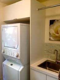 Laundry Room Sink Ideas by Furniture Awesome Stackable Washer And Dryer For Smart Laundry