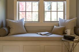 High Window Seat - traditional master bedroom with window seat by amy troute zillow
