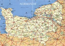 Detailed Map Of France by Getting To Normandy