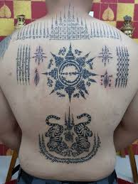 pin by paul young on sak yant pinterest bamboo tattoo thai