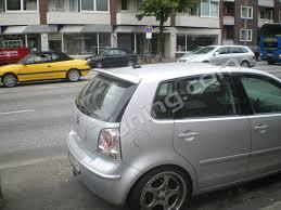 volkswagen hatchback 2006 volkswagen polo 9n 9n3 roof spoiler 1194