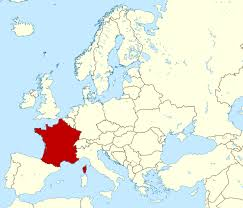 Maps Of France by Large Location Map Of France In Europe France Europe