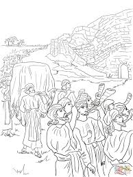 4 joshua and the fall of jericho coloring page jpg 1 200 1 600
