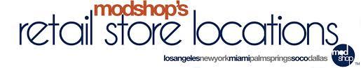 modshop store locations los angeles nyc miami dallas palm springs