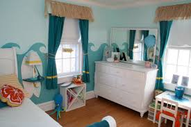 Curtain Color For Blue Walls Bedroom Astounding Blue Teenage Decoration Using Round Light