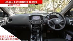 nissan pathfinder hybrid 2018 new 2018 nissan pathfinder ti awd full review youtube