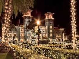 st augustine lights tour st augustine florida s nights of lights youtube