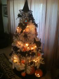 Fun Halloween Decoration Ideas Halloween Decorating Ideas Indoor Mixed Artificial Christmas Tree
