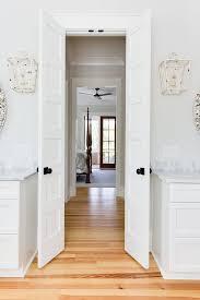 bi fold master bath doors with oil rubbed bronze door knobs