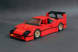lego ferrari f40 prototyp works