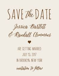 no photo save the date cards match your color style free