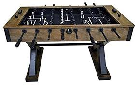 amazon com foosball table amazon com american heritage 545638 element foosball table black