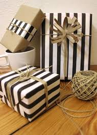 black and white gift wrap diy gift wrapping ideas giftwrap giftsdetective home of