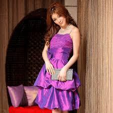 cheap party dress wholesale asian designer k3302 purple k3302