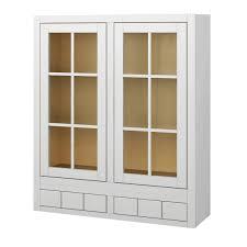 kitchen glass wall cabinets sagehill designs vdw3642gd6
