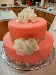 Kitchen Tea Cake Ideas Two Tier Strawberry Bridal Shower Cake First Attempt 3262 2448