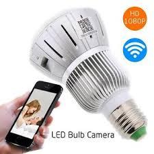 motion light security camera hd 1080p full hidden wifi ip light bulb camera motion detection cctv