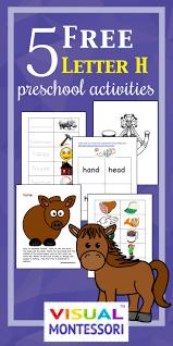 5 free preschool worksheets for preschool alphabet letter h