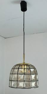 vintage glass pendant light vintage glass pendant l from glashütte limburg for sale at pamono