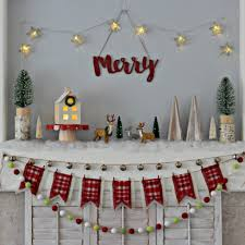merry woodland christmas mantel organize and decorate everything