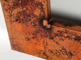 copper bathroom mirrors tall bathroom copper mirror frame 48 copper sinks online
