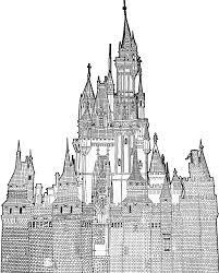 cinderella castle free hand artwork ryanh1984 deviantart