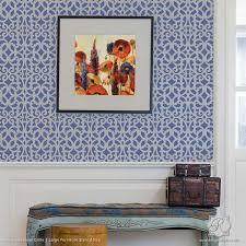 wall trellis design exotic trellis furniture stencils for diy painting royal design