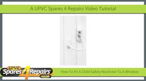 window locks child safety how to fit a cable type child safety restrictor to a upvc window