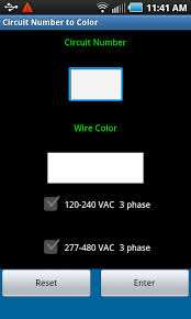 circuit number to color android apps on google play