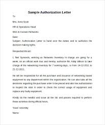 sample letter of authorization u2013 8 free dcouments in word pdf