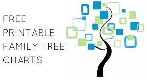 free family tree charts printables climb your family tree