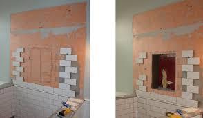 bathroom shower niche ideas shower niche height unac co