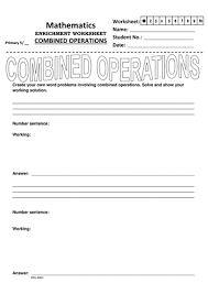 create your own combined operations u0027 word problems by jinkydabon