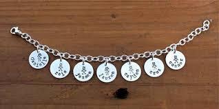 personalized charm personalized charm bracelet custom jewelry