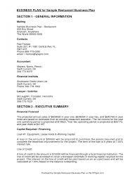 sba business plan template rubybursa com one page word free 5