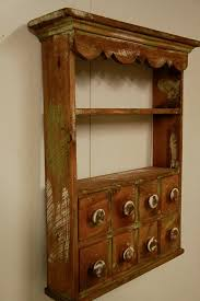 Wall Cabinet Spice Rack Kitchen Spice Rack Apothecary Wall Shelf Apothecary Cabinet