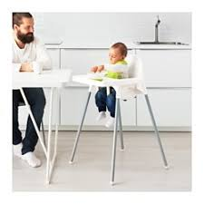 High Chairs For Babies Antilop High Chair With Tray Ikea