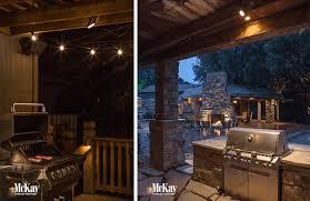 Outdoor Kitchen Design Ideas Outdoor Kitchen U0026 Grill Lighting Ideas
