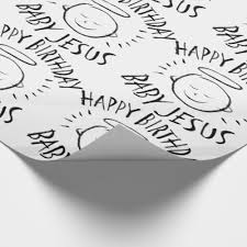 chalk wrapping paper happy birthday baby jesus christmas black chalk wrapping paper