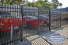 eastern ornamental aluminum offers a commercial grade fence as