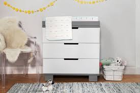 Modern Nursery Rug by Decor Winsome Babyletto Hudson Dresser Changer 2 Tone Grey And
