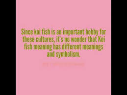 Different Koi Fish Meanings Different Koi Fish Meaning And Symbolism