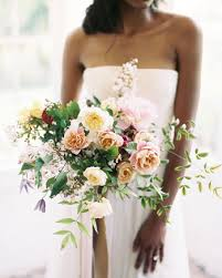 wedding flowers greenery 32 chic cascading wedding bouquets martha stewart weddings