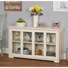 Glass Door Cabinets Kitchen Glass Door Cabinet Ebay