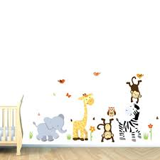Animal Wall Decor For Nursery Wall Decals Baby Nursery Baby Nursery Wall Decor Baby Room Wall