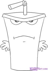 how to draw master shake step by step cartoon network characters