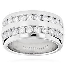 mens wedding bands with diamonds diamond men s wedding bands groom wedding rings shop the best